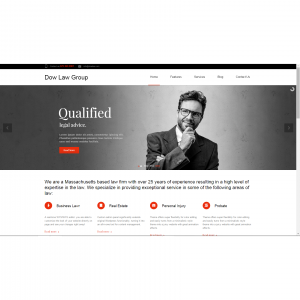 WordPress Website Development for Dow Law Group